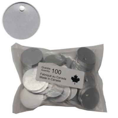 No 71 Jetons Aluminium Anodisé Sac de 100