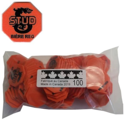 No 72 Tags BIERE REG Bags of 100